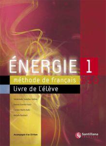 Énergie 1 Livre de l'élève
