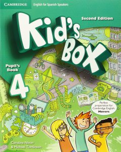 Kid's Box for spanish speakers updated level 4 pupil's Book