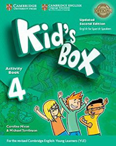 Kid's Box for spanish speakers updated level 4 activity Book with CD