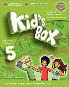 Kid's Box for spanish speakers updated level 5 activity Book with CD