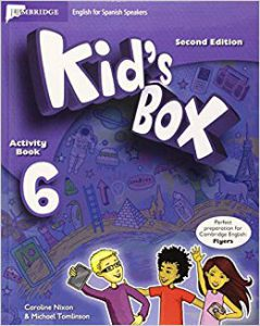 Kid's Boxfor Spanish Updated level 6 Activity Book with CD-ROM